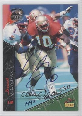1995 Signature Rookies - [Base] - International Signatures [Autographed] #11 - Derrick Brooks /2750