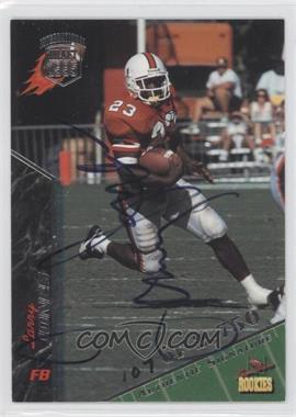 1995 Signature Rookies - [Base] - International Signatures [Autographed] #46 - Larry Jones /2750