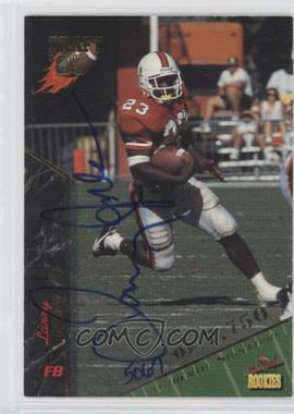 1995 Signature Rookies - [Base] - Signatures [Autographed] #46 - Larry Jones /7750