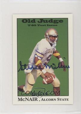 1995 Signature Rookies - Old Judge T-95 Test Issue - Signatures [Autographed] #3 - Steve McNair /500