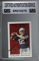 Kerry Collins [CAS Certified Sealed]