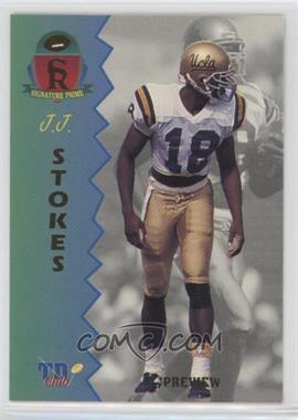 1995 Signature Rookies Prime - TD Club Previews #P-4 - J.J. Stokes