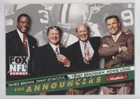 Howie Long, James Brown, Jimmy Johnson, Terry Bradshaw