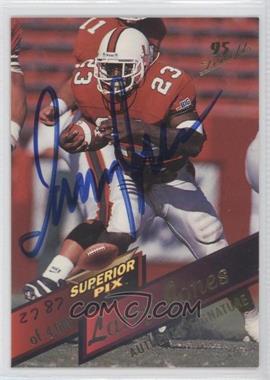 1995 Superior Pix - [Base] - Autographs [Autographed] #103 - Larry Jones /4000