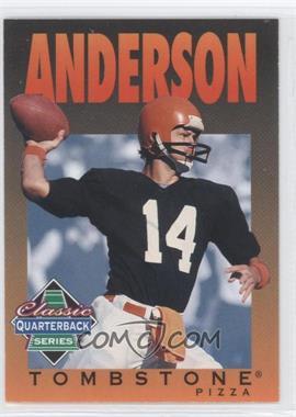1995 Tombstone Pizza Classic Quarterback Series - [Base] #1 - Ken Anderson