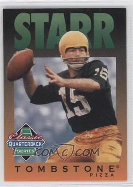 1995 Tombstone Pizza Classic Quarterback Series - [Base] #10 - Bart Starr