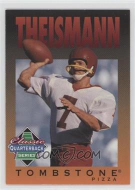 1995 Tombstone Pizza Classic Quarterback Series - [Base] #11 - Joe Theismann