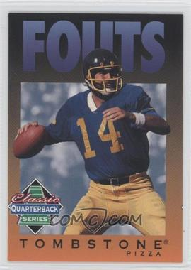 1995 Tombstone Pizza Classic Quarterback Series - [Base] #4 - Dan Fouts