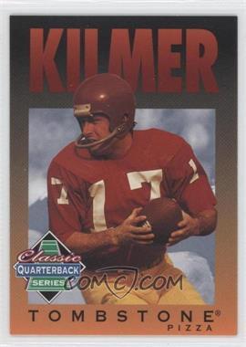 1995 Tombstone Pizza Classic Quarterback Series - [Base] #6 - Billy Kilmer