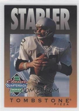 1995 Tombstone Pizza Classic Quarterback Series - [Base] #9 - Ken Stabler