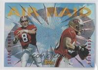 Jerry Rice, Steve Young