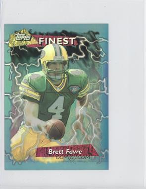1995 Topps Finest - [Base] - Jumbo Refractor #5 - Brett Favre