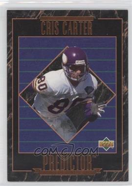 1995 Upper Deck - Predictors League Leaders #RP 23 - Cris Carter