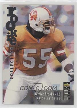 1995 Upper Deck Collector's Choice Update - [Base] - Gold #U59 - Derrick Brooks