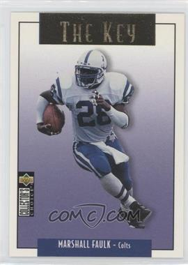 1995 Upper Deck Collector's Choice Update - [Base] - Gold #U63 - Marshall Faulk