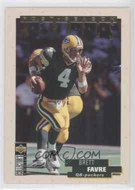1995 Upper Deck Collector's Choice Update - Post-Season Heroics - Gold #13 - Brett Favre