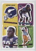 Minnesota Vikings, Donnell Woolford, James A. Stewart, Eric Curry