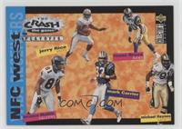 Jerry Rice, Isaac Bruce, Michael Haynes, Mark Carrier, Terrance Mathis