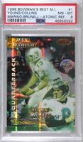 Steve Young, Kerry Collins, Dan Marino, Mark Brunell [PSA 8 NM‑…