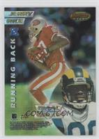 Jerry Rice, Isaac Bruce, Tim Brown, Joey Galloway [EX to NM]