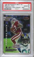 Jerry Rice, Isaac Bruce, Tim Brown, Joey Galloway [PSA 10]