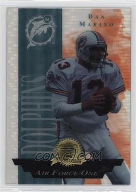 1996 Collector's Edge President's Reserve - Air Force One - CS Jumbo #4 - Dan Marino /500
