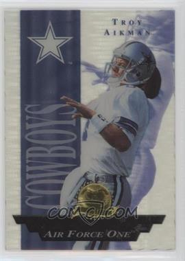 1996 Collector's Edge President's Reserve - Air Force One #19 - Troy Aikman /2500