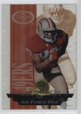 1996 Collector's Edge President's Reserve - Air Force One #28.1 - Jerry Rice /2500
