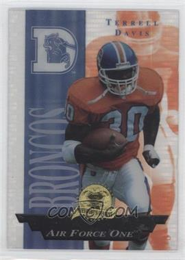 1996 Collector's Edge President's Reserve - Air Force One #35 - Terrell Davis /2500