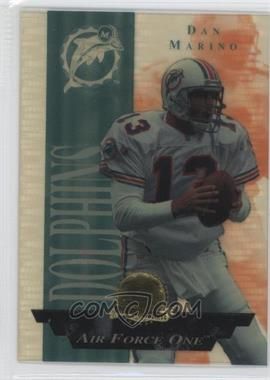 1996 Collector's Edge President's Reserve - Air Force One #4.1 - Dan Marino /2500