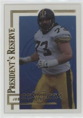 1996 Collector's Edge President's Reserve - [Base] #360 - Justin Strzelczyk /20000