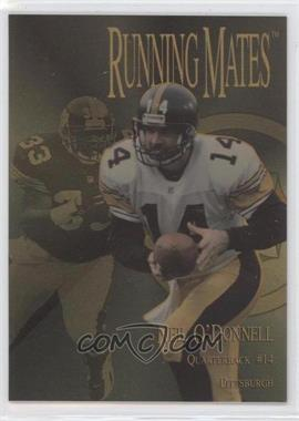 1996 Collector's Edge President's Reserve - Running Mates - Gold #RM14 - Neil O'Donnell, Bam Morris /100