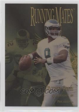 1996 Collector's Edge President's Reserve - Running Mates - Gold #RM19 - Rodney Peete, Ricky Watters /100