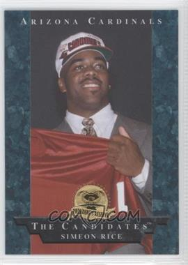 1996 Collector's Edge President's Reserve - The Candidates #1 - Simeon Rice