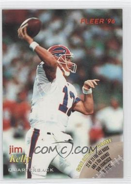 1996 Fleer Shell FACT - [Base] #5 - Jim Kelly