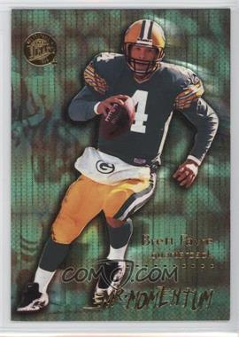 1996 Fleer Ultra - Mr. Momentum #6 - Brett Favre