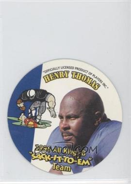 1996 KING-B Discs Sack-it-to-Em - [Base] #13 - Henry Thomas