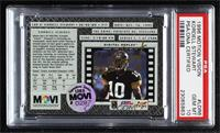 Kordell Stewart (Players, referee in background) [PSA Authentic PSA/D…