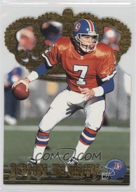 1996 Pacific Crown Collection - Gold Crown Die-Cuts #GC-6 - John Elway