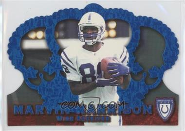 1996 Pacific Crown Royale - [Base] - Blue #CR-27 - Marvin Harrison