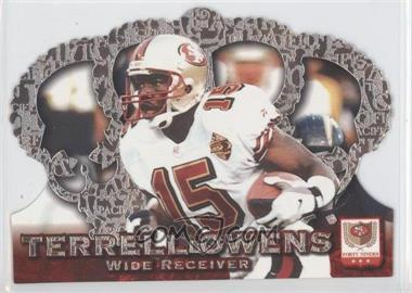 1996 Pacific Crown Royale - [Base] - Silver #CR-39 - Terrell Owens