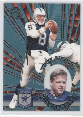 1996 Pacific Invincible - [Base] - Platinum Blue #I-36 - Troy Aikman