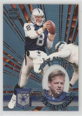 1996 Pacific Invincible - [Base] - Platinum Blue #I-36 - Troy Aikman