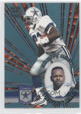 1996 Pacific Invincible - [Base] - Platinum Blue #I-39 - Emmitt Smith