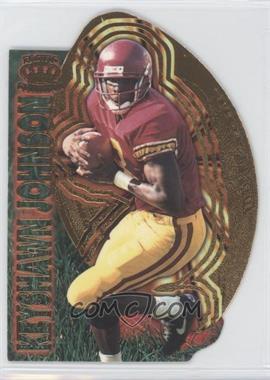1996 Pacific Invincible - Kick-Starters #KS-7 - Keyshawn Johnson