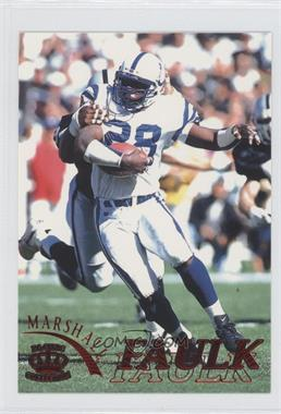 1996 Pacific Pure NFL Gridiron - [Base] - Red #55 - Marshall Faulk