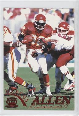 1996 Pacific Pure NFL Gridiron - [Base] - Red #60 - Marcus Allen