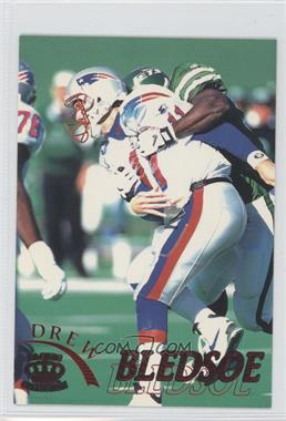 1996 Pacific Pure NFL Gridiron - [Base] - Red #72 - Drew Bledsoe