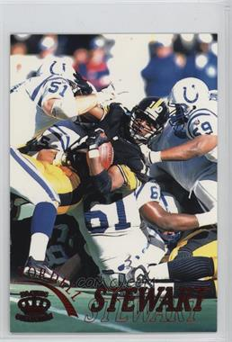 1996 Pacific Pure NFL Gridiron - [Base] - Red #98 - Kordell Stewart