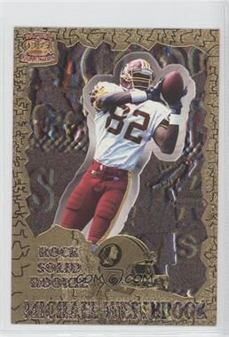 1996 Pacific Pure NFL Gridiron - Rock Solid Rookie #RP 3 - Michael Westbrook